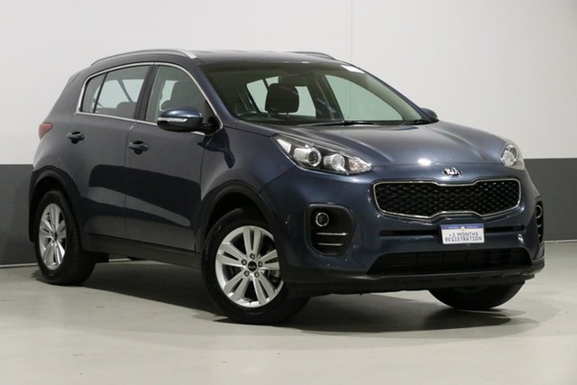 Used Kia Sportage QL MY18 SI (FWD), 2018 Kia Sportage QL MY18 SI (FWD) Blue 6 Speed Automatic Wagon