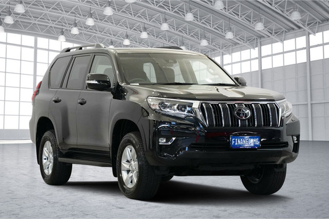 Used Toyota Landcruiser Prado GDJ150R GXL, 2018 Toyota Landcruiser Prado GDJ150R GXL Black 6 Speed Sports Automatic Wagon