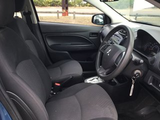2017 Mitsubishi Mirage LA MY16 ES Blue Continuous Variable Hatchback