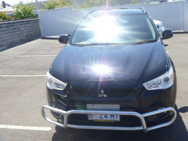 Used Mitsubishi ASX XA MY11 , 2010 Mitsubishi ASX XA MY11 Black 6 Speed Constant Variable Wagon