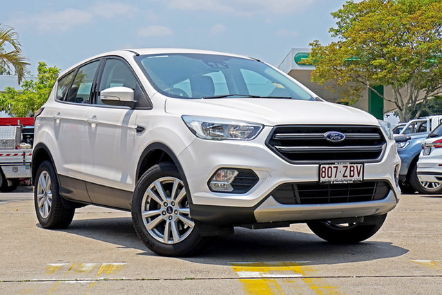 Used Ford Escape ZG 2019.25MY Ambiente 2WD, 2019 Ford Escape ZG 2019.25MY Ambiente 2WD White Platinum 6 Speed Sports Automatic Wagon
