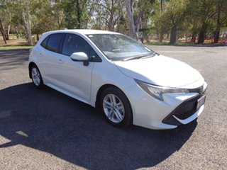 2018 Toyota Corolla Mzea12R Ascent Sport Crystal Pearl Continuous Variable Hatchback.