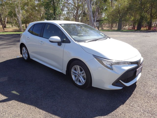 Demo Toyota Corolla Mzea12R Ascent Sport, 2018 Toyota Corolla Mzea12R Ascent Sport Crystal Pearl Continuous Variable Hatchback