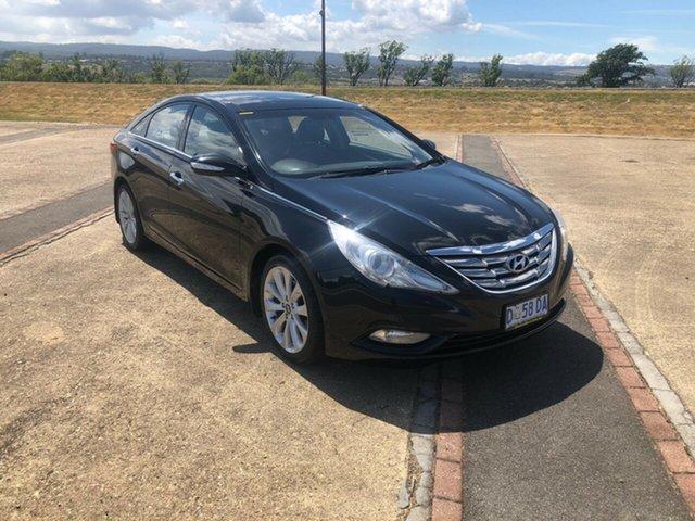 Used Hyundai i45 YF MY11 Premium, 2011 Hyundai i45 YF MY11 Premium Black Diamond 6 Speed Sports Automatic Sedan
