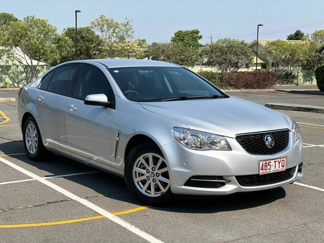Used Holden Commodore VF MY14 Evoke, 2014 Holden Commodore VF MY14 Evoke Silver 6 Speed Sports Automatic Sedan