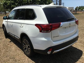 2017 Mitsubishi Outlander ZK MY17 LS (4x4) White Continuous Variable Wagon