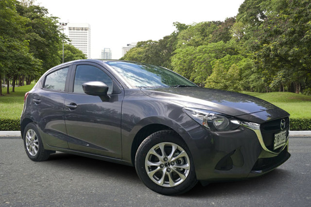 Demo Mazda 2 DJ2HAA Maxx SKYACTIV-Drive, 2019 Mazda 2 DJ2HAA Maxx SKYACTIV-Drive Machine Grey 6 Speed Sports Automatic Hatchback