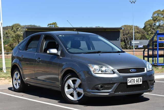 Used Ford Focus LT LX, 2008 Ford Focus LT LX Grey 4 Speed Sports Automatic Hatchback