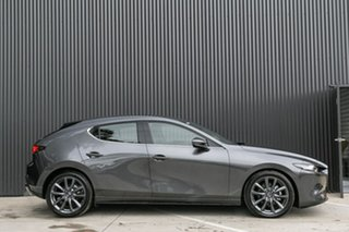 2019 Mazda 3 BP2HLA G25 SKYACTIV-Drive GT Machine Grey 6 Speed Sports Automatic Hatchback.