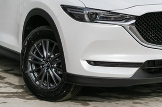 2019 Mazda CX-5 CX-5 H 6AUTO MAXX SPORT PETROL FWD Snowflake White Pearl Wagon.