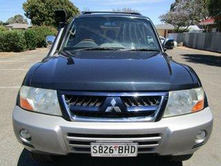 2003 Mitsubishi Pajero NP Exceed LWB (4x4) 5 Speed Auto Sports Mode Wagon.