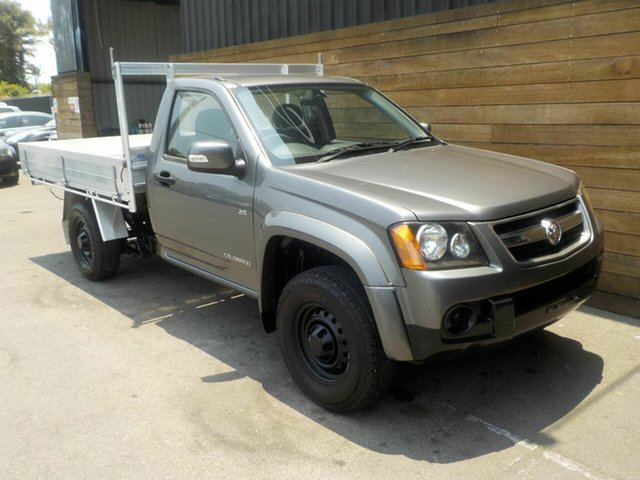 Used Holden Colorado RC MY10 LX 4x2, 2010 Holden Colorado RC MY10 LX 4x2 Grey 5 Speed Manual Cab Chassis