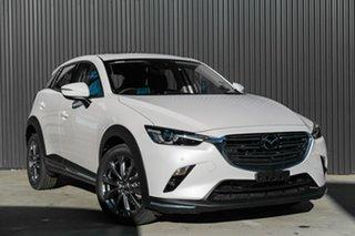 2019 Mazda CX-3 CX-3 Snowflake White Pearl Wagon.