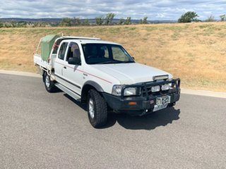 2005 Ford Courier PH XL Super Cab White 5 Speed Manual Utility.