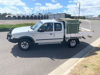 2005 Ford Courier PH XL Super Cab White 5 Speed Manual Utility