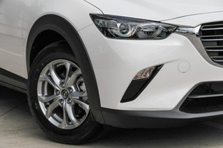 2019 Mazda CX-3 Maxx Snowflake White Pearl 6 Speed Manual Wagon.