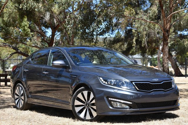 Used Kia Optima TF MY12 Platinum, 2012 Kia Optima TF MY12 Platinum Graphite 6 Speed Sports Automatic Sedan