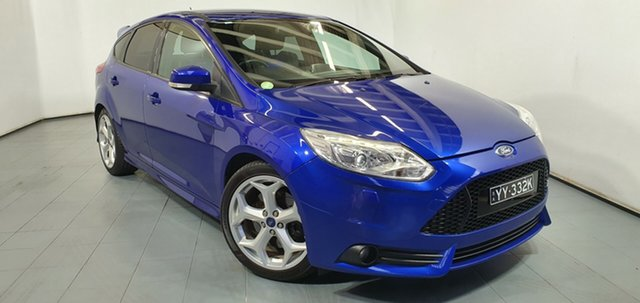 Used Ford Focus LW MkII ST, 2012 Ford Focus LW MkII ST Blue 6 Speed Manual Hatchback
