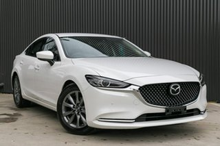 2019 Mazda 6 GL1033 Touring SKYACTIV-Drive White Pearl 6 Speed Sports Automatic Sedan.