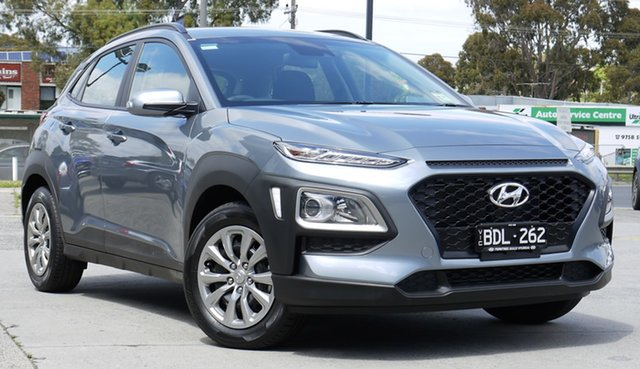 Demo Hyundai Kona OS.3 MY20 Go 2WD, 2019 Hyundai Kona OS.3 MY20 Go 2WD Lake Silver 6 Speed Sports Automatic Wagon
