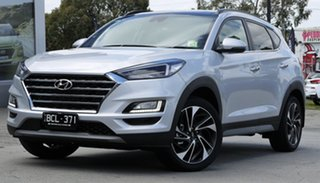 2019 Hyundai Tucson TL3 MY19 Highlander D-CT AWD Platinum Silver 7 Speed.