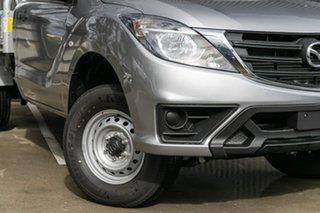 2019 Mazda BT-50 UR0YE1 XT 4x2 Hi-Rider Aluminium 6 Speed Sports Automatic Cab Chassis.
