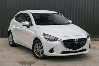 2019 Mazda 2 Mazda2 Snowflake White Pearl Hatchback.