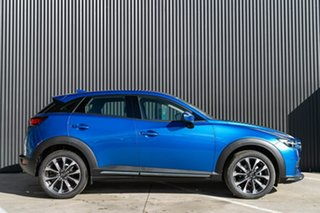 2019 Mazda CX-3 DK2W7A sTouring SKYACTIV-Drive FWD Dynamic Blue 6 Speed Sports Automatic Wagon.
