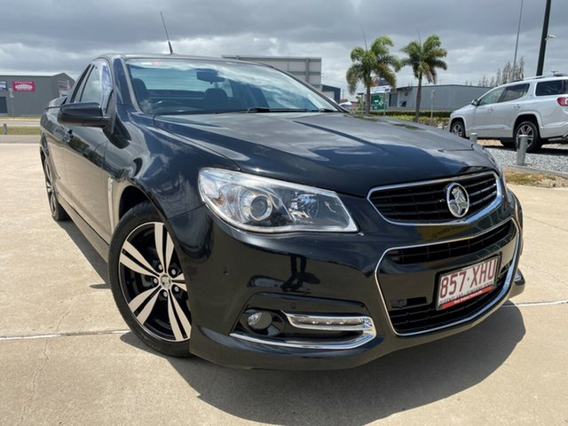 Used Holden Ute VF MY14 SS Ute Storm, 2014 Holden Ute VF MY14 SS Ute Storm Black 6 Speed Sports Automatic Utility