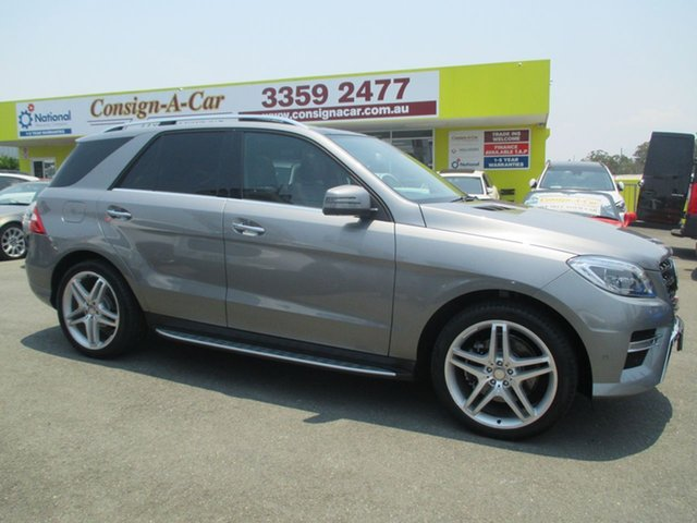 Used Mercedes-Benz M-Class W166 ML350 BlueTEC 7G-Tronic +, 2013 Mercedes-Benz M-Class W166 ML350 BlueTEC 7G-Tronic + Grey 7 Speed Sports Automatic Wagon