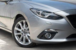 2014 Mazda 3 BM5238 SP25 SKYACTIV-Drive Astina Silver 6 Speed Sports Automatic Sedan.