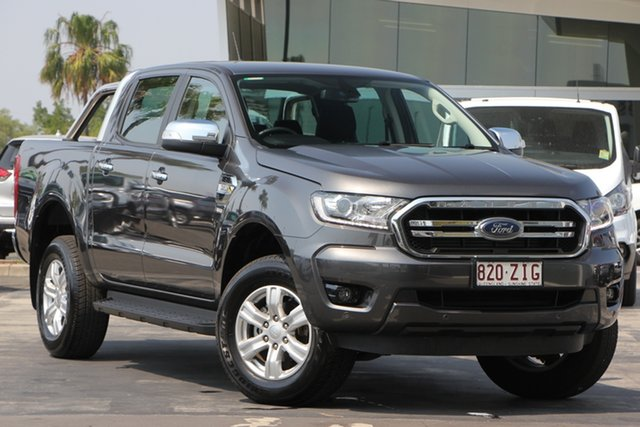 Used Ford Ranger PX MkII 2018.00MY XLT Double Cab 4x2 Hi-Rider, 2018 Ford Ranger PX MkII 2018.00MY XLT Double Cab 4x2 Hi-Rider Magnetic 6 Speed Sports Automatic