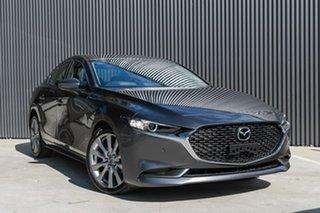 2019 Mazda 3 G25 Machine Grey 6 Speed Steptronic Sedan.