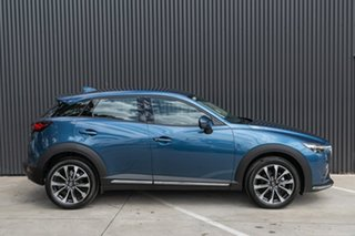 2019 Mazda CX-3 CX-3 D 6AUTO STOURING PETROL FWD Eternal Blue Wagon.