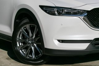 2019 Mazda CX-5 Akera Snowflake White Pearl 6 Speed Steptronic Wagon.