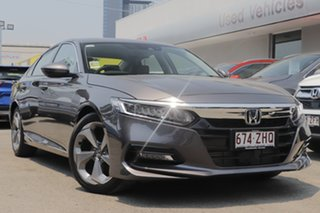 2019 Honda Accord 10th Gen MY19 VTi-LX Modern Steel 1 Speed Constant Variable Sedan