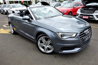 2014 Audi A3 8V MY15 Attraction S Tronic Grey 7 Speed Sports Automatic Dual Clutch Cabriolet.
