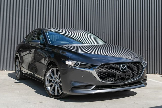 New Mazda 3 BP2SLA G25 SKYACTIV-Drive Evolve, 2019 Mazda 3 BP2SLA G25 SKYACTIV-Drive Evolve Machine Grey 6 Speed Sports Automatic Sedan