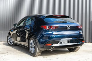 2019 Mazda 3 BP2H7A G20 SKYACTIV-Drive Pure Deep Crystal Blue 6 Speed Sports Automatic Hatchback
