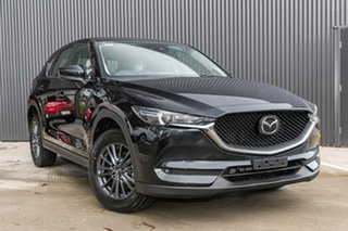 2019 Mazda CX-5 KF2W7A Maxx SKYACTIV-Drive FWD Sport Jet Black 6 Speed Sports Automatic Wagon.