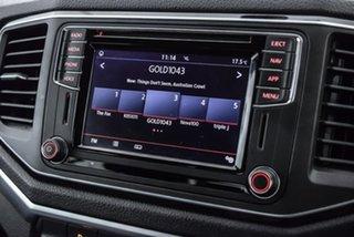 2018 Volkswagen Amarok 2H MY18 TDI550 4MOTION Perm Dark Label Silver 8 Speed Automatic Utility