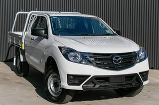 2019 Mazda BT-50 UR0YG1 XT Freestyle Cool White 6 Speed Sports Automatic Cab Chassis.
