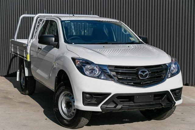 Demo Mazda BT-50 UR0YG1 XT Freestyle, 2019 Mazda BT-50 UR0YG1 XT Freestyle Cool White 6 Speed Sports Automatic Cab Chassis