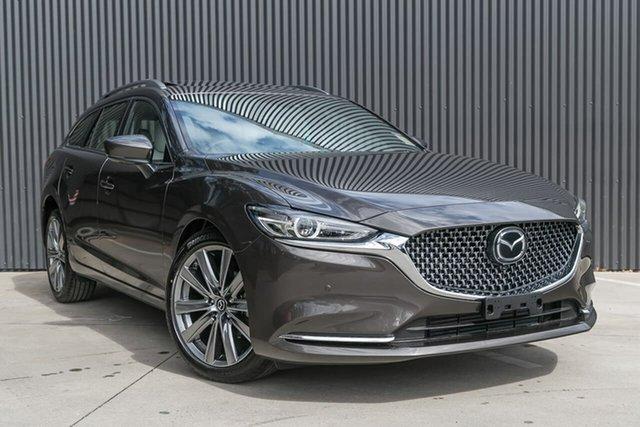 New Mazda 6 GL1033 Atenza SKYACTIV-Drive, 2019 Mazda 6 GL1033 Atenza SKYACTIV-Drive Titanium Flash 6 Speed Sports Automatic Wagon