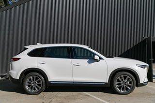 2019 Mazda CX-9 CX-9 J 6AUTO AZAMI LE AWD Snowflake White Pearl Wagon.
