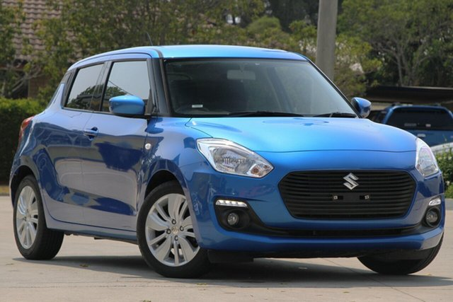 Used Suzuki Swift AZ GL Navigator, 2018 Suzuki Swift AZ GL Navigator Blue 5 Speed Manual Hatchback