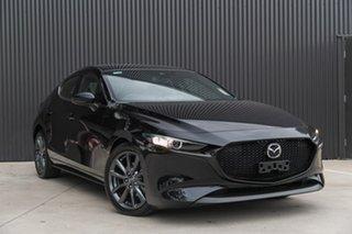 2019 Mazda 3 BP2HLA Jet Black 6 Speed Steptronic Hatchback.