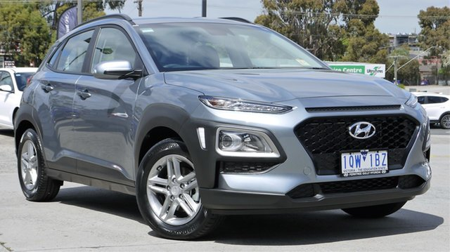 Demo Hyundai Kona OS.3 MY20 Active 2WD, 2019 Hyundai Kona OS.3 MY20 Active 2WD Lake Silver 6 Speed Sports Automatic Wagon