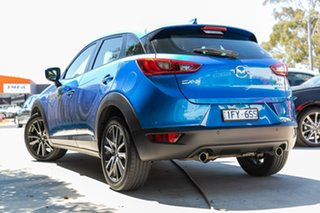 2016 Mazda CX-3 DK2W7A sTouring SKYACTIV-Drive Blue 6 Speed Sports Automatic Wagon.