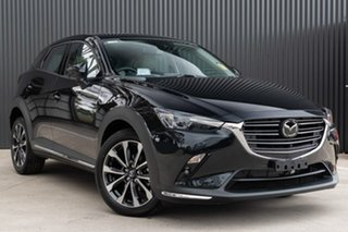 2019 Mazda CX-3 DK2W7A Akari SKYACTIV-Drive FWD Jet Black 6 Speed Sports Automatic Wagon.